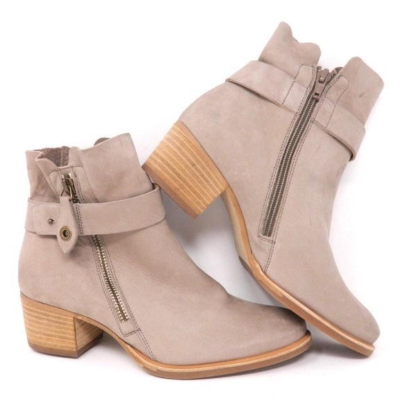 4afab6982b842 Paul Green Booties 6 US Sherida Grey Nubuck. M_5b9b399c12cd4a34b2f32643